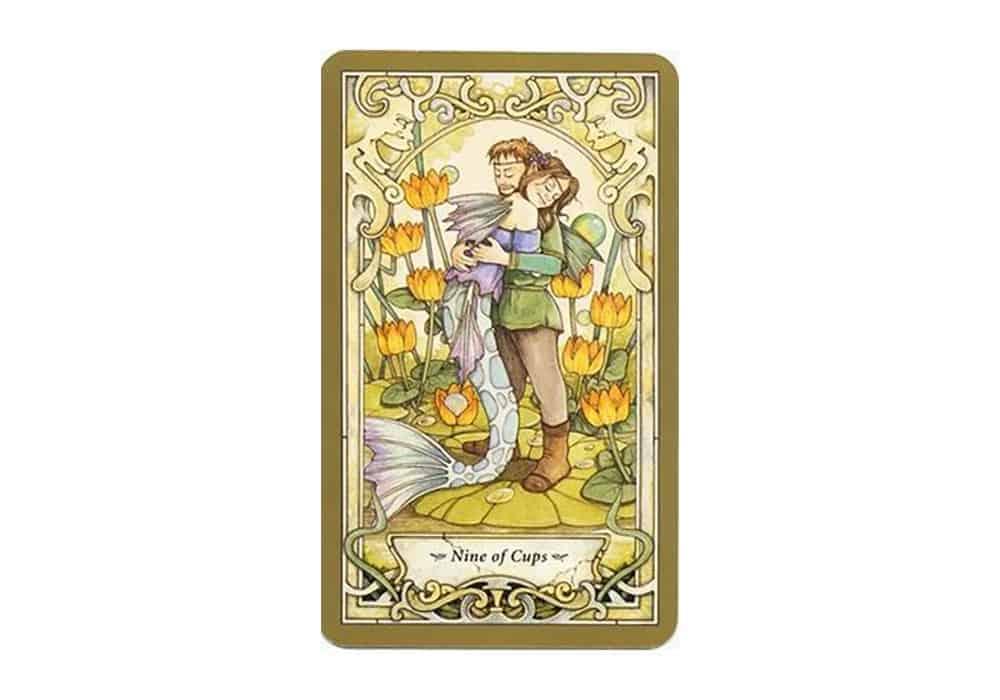 Tarot i ljubav – značenje pojedine karte (Devetka pehara)