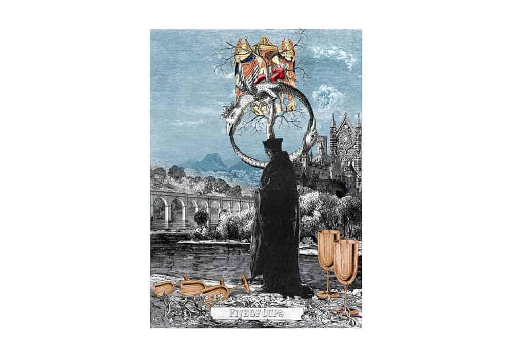 Tarot i ljubav – značenje pojedine karte (Petica pehara)