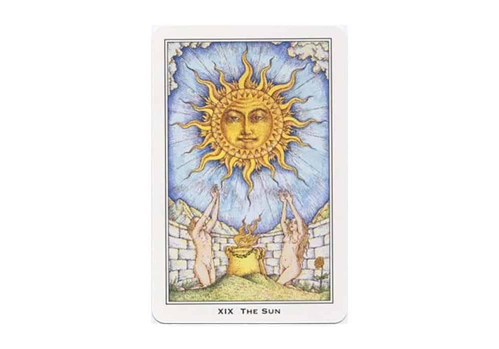 Tarot i ljubav  – značenje pojedine karte (Sunce)