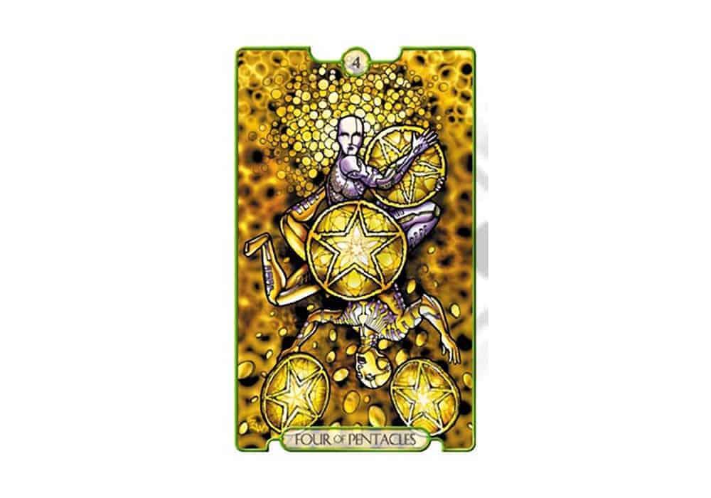 Tarot i ljubav – značenje pojedine karte (Četvorka diskova)