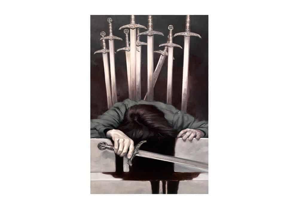 Tarot i ljubav – značenje pojedine karte (Desetka mačeva)