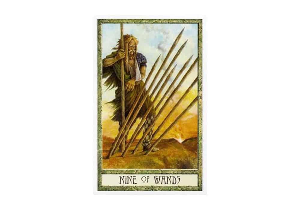 Tarot i ljubav – značenje pojedine karte (Devetka štapova)
