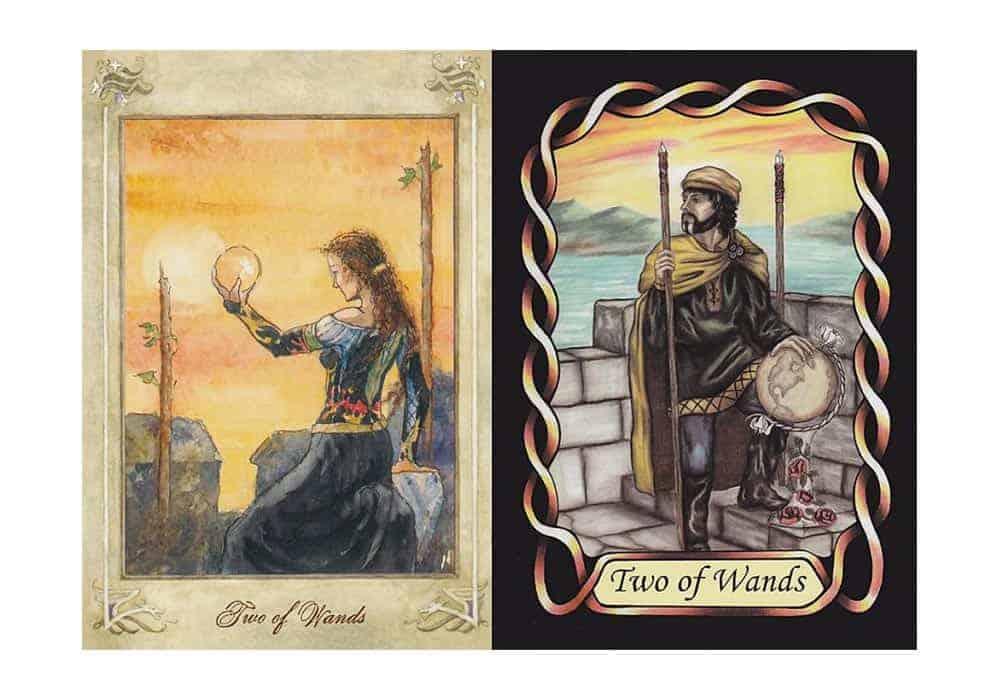 Tarot i ljubav – značenje pojedine karte (Dvojka štapova)