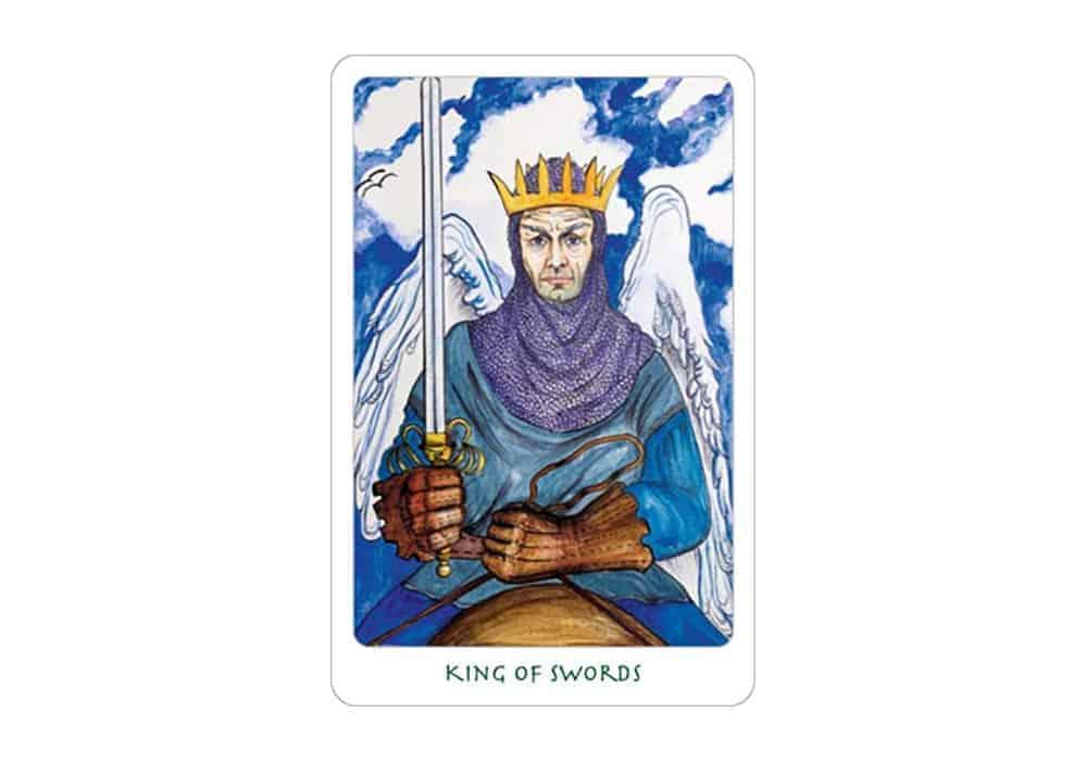 Tarot i ljubav – značenje pojedine karte (Kralj mačeva)