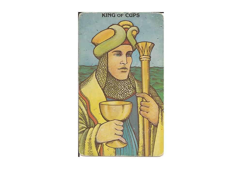 Tarot i ljubav – značenje pojedine karte (Kralj pehara)