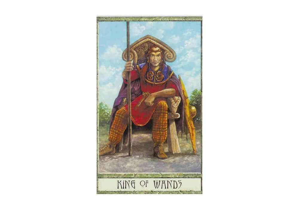 Tarot i ljubav – značenje pojedine karte (Kralj štapova)