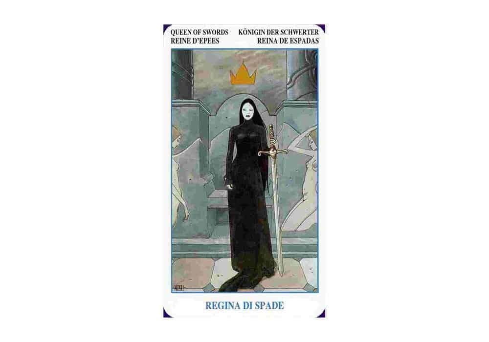 Tarot i ljubav – značenje pojedine karte (Kraljica mačeva)
