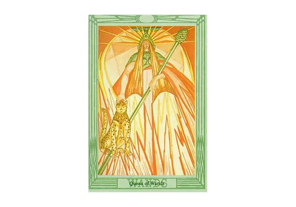 Tarot i ljubav – značenje pojedine karte (Kraljica štapova)