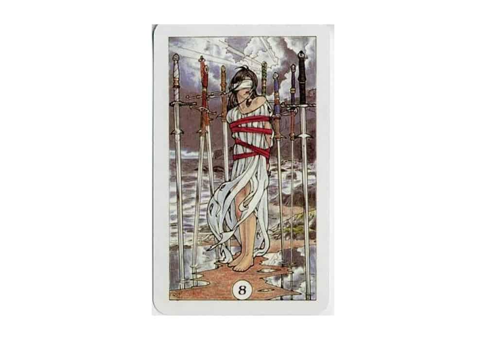 Tarot i ljubav – značenje pojedine karte (Osmica mačeva)