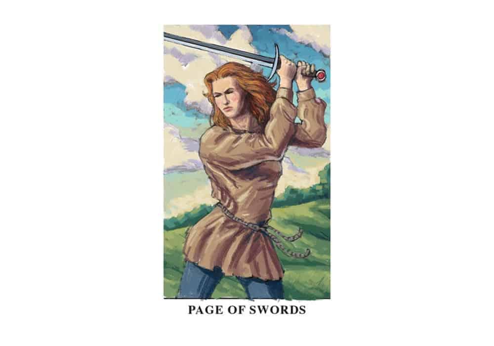 Tarot i ljubav – značenje pojedine karte (Paž mačeva)