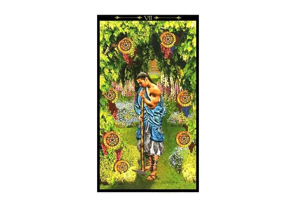 Tarot i ljubav – značenje pojedine karte (Sedmica diskova)
