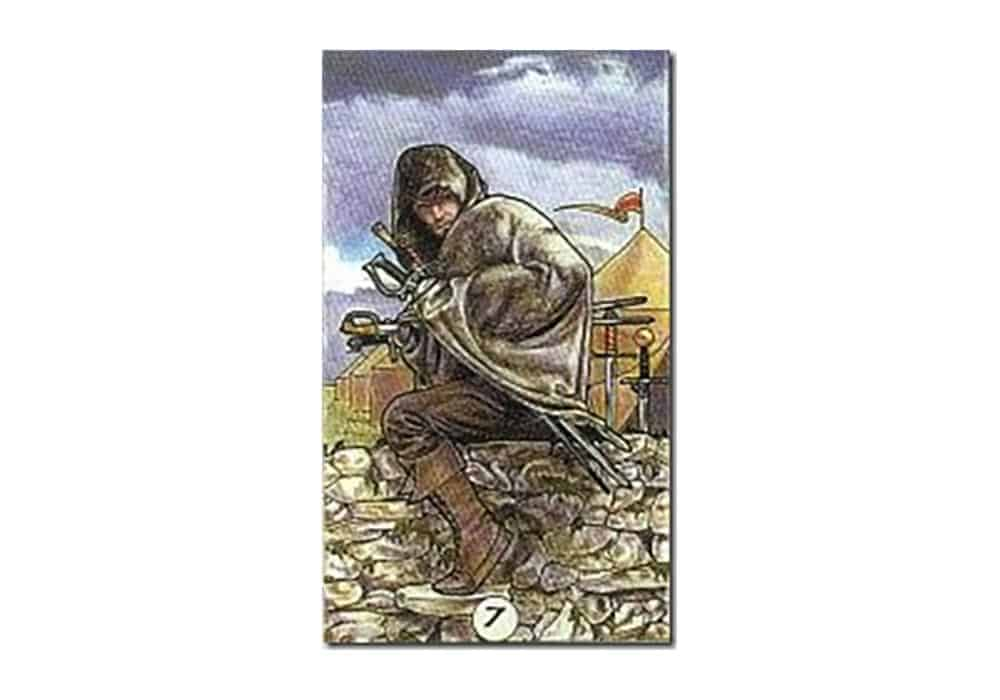 Tarot i ljubav – značenje pojedine karte (Sedmica mačeva)