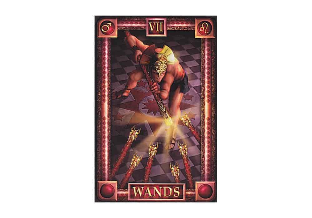 Tarot i ljubav – značenje pojedine karte (Sedmica štapova)