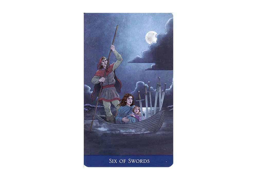 Tarot i ljubav – značenje pojedine karte (Šestica mačeva)