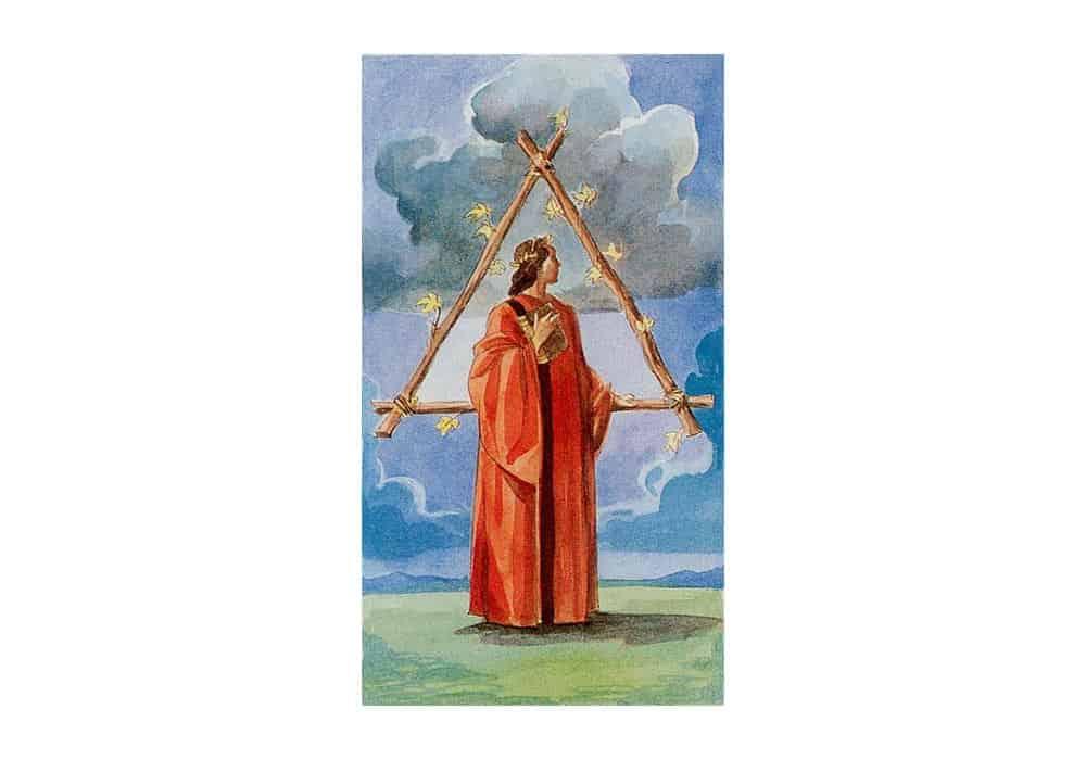 Tarot i ljubav – značenje pojedine karte (Trojka štapova)
