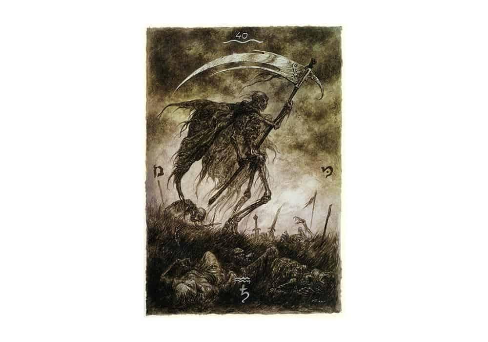 Tarot i ljubav – značenje pojedine karte (Smrt)