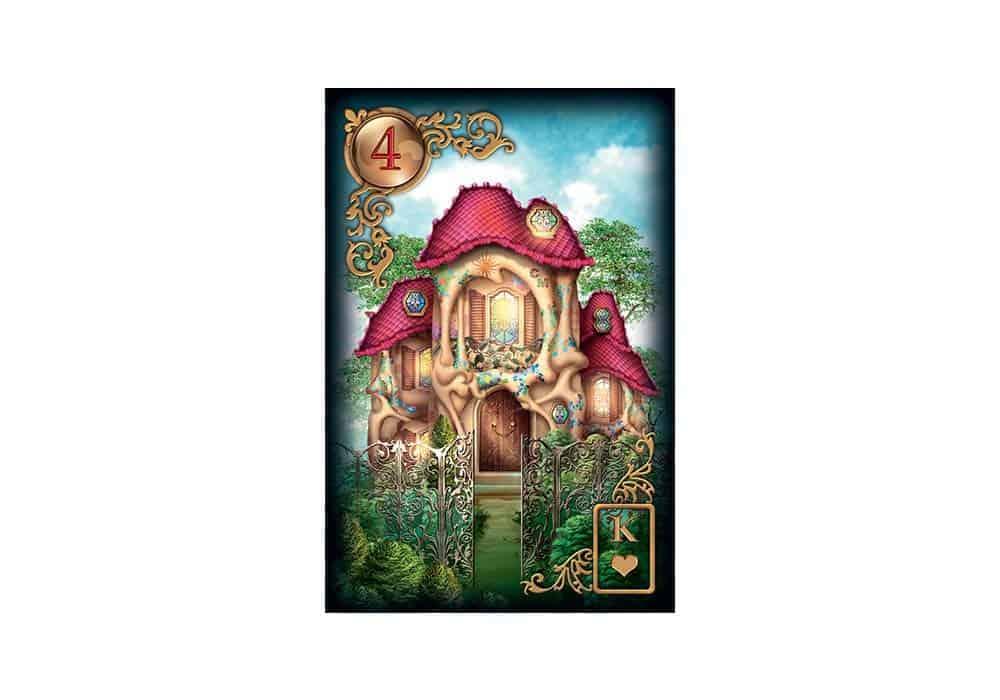 Tajne tarota Lenormand: Kuća
