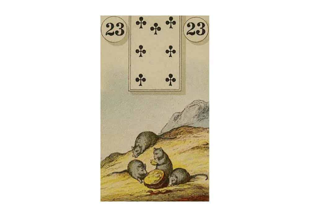 Tajne tarota Lenormand: Miševi