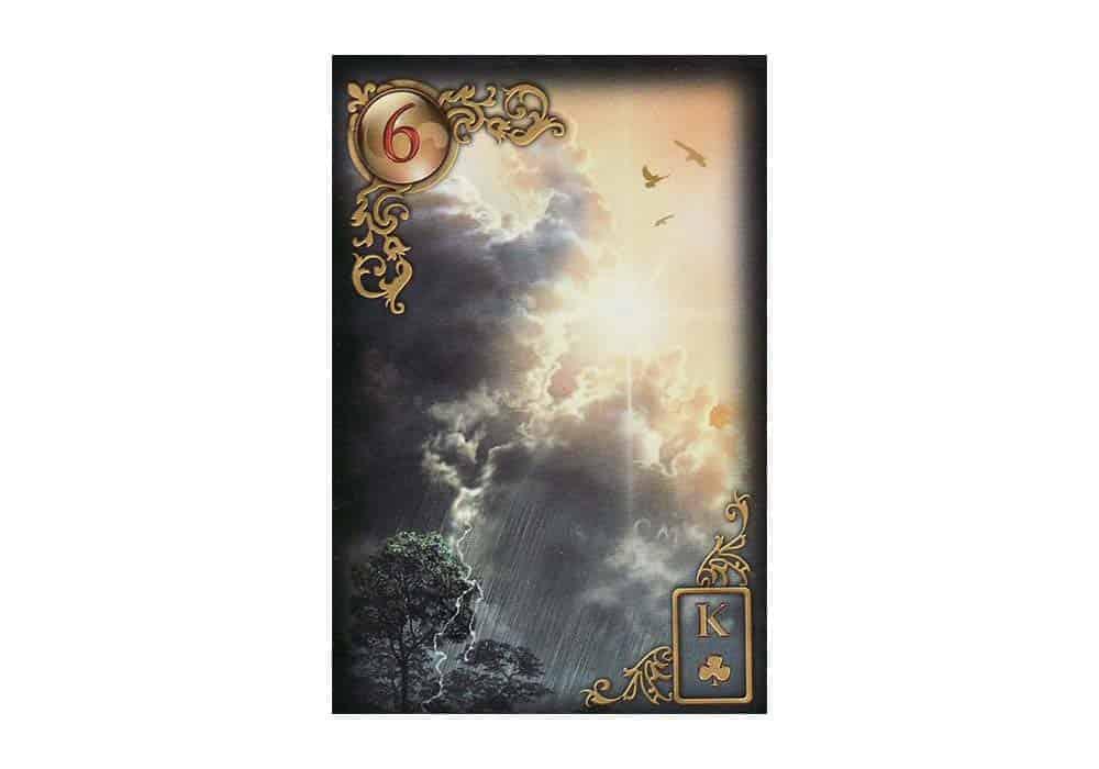 Tajne tarota Lenormand: Oblaci