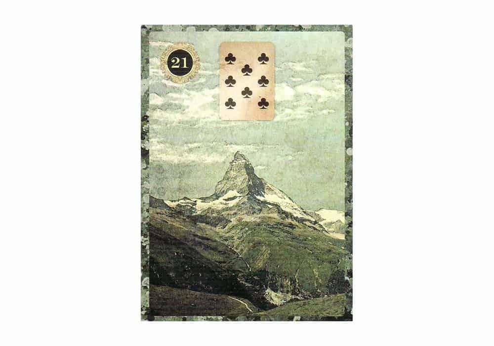 Tajne tarota Lenormand: Planina