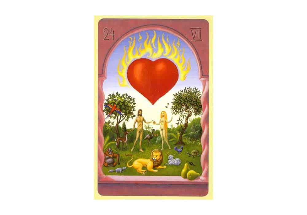 Tajne tarota Lenormand: Srce