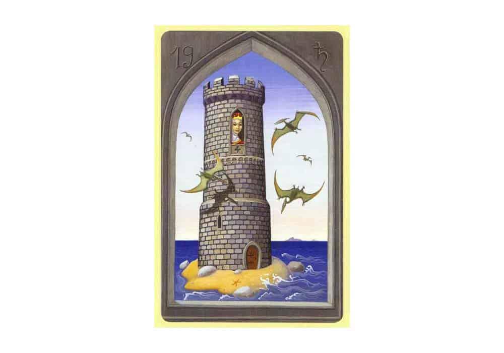 Tajne tarota Lenormand: Toranj