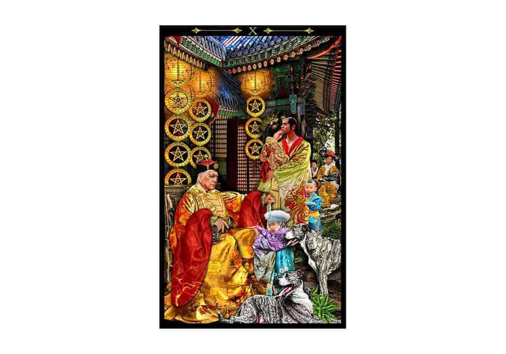 Tarot i ljubav – značenje pojedine karte (Desetka diskova)