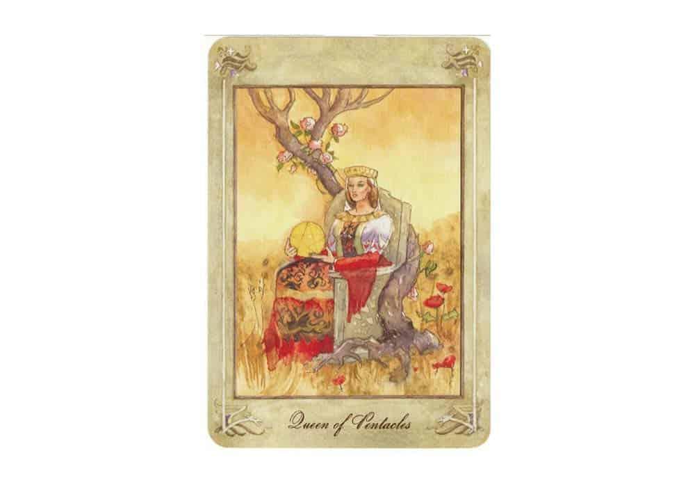 Tarot i ljubav  – značenje pojedine karte (Kraljica diskova)