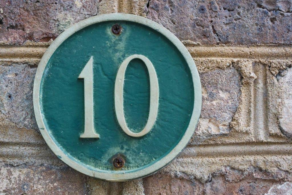 Numerologija broja 10